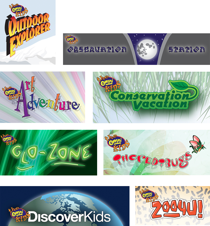 Omni Kids Program Logos