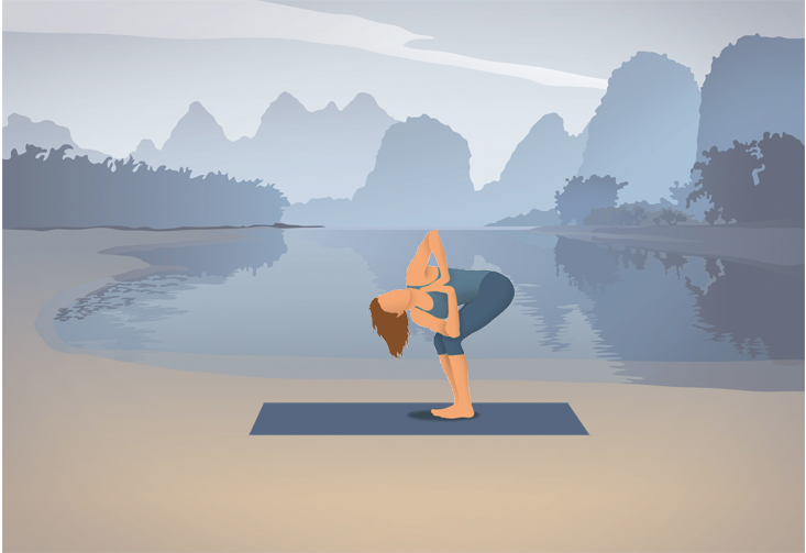 Pocket Yoga App Ocean Background